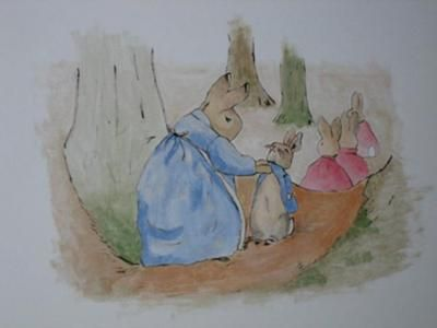 peter rabbit mural inspired by beatrix potter a