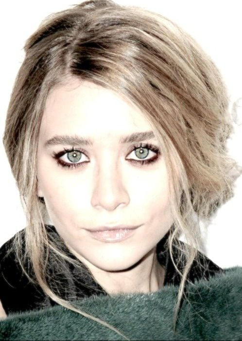 Olsen hair and makeup. Loving.