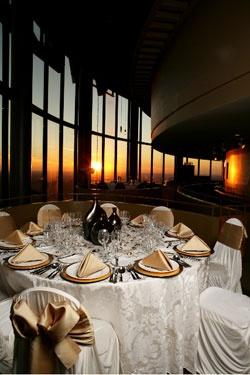 The Sun Dial Restaurant Atlanta, GA. The whole restaurant ...