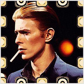 David Bowie - Quadrinhos confeccionados em Azulejo no tamanho 15x15 cm.Tem um ganchinho no verso para fixar na parede. Inspirados em cantores e compositores internacionais. Para entrar em contato conosco, acesse: www.babadocerto.c...