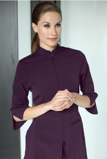 Urban Fusion - This signature tip has a mandarin collar with a 3/4 length sleeve.