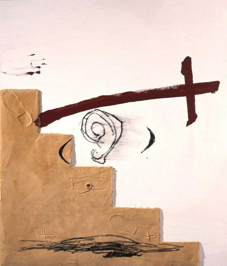 Antoni Tàpies Escala i espasa, 2005