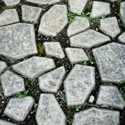 Making your own concrete stepping stones is not only fun and creative, it can save you money as well. You can make your molds in whatever shape you choose. Molds for concrete stepping stones can be made from virtually any object you have around the house that can hold concrete. This includes cake pans, baking pans, old milk jugs, even pizza boxes....
