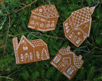 Christmas Cross Stitch Bowl Fillers/Tree Ornaments by twood59