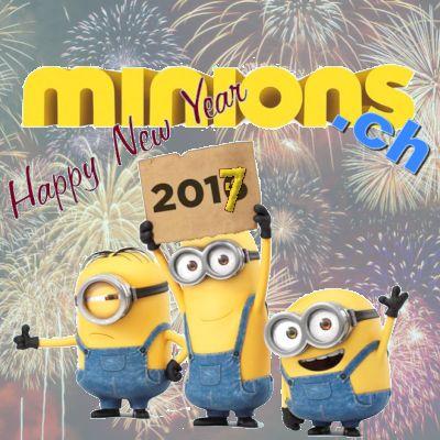 Happy New Year 2017 | minions.ch