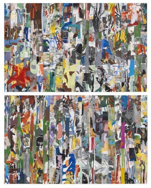 Arturo Herrera Jack, 2010 Mixed media on paper 2 parts: 32.25 x 51.75 inches (81.9 x 131.4 cm), each VIA MORE