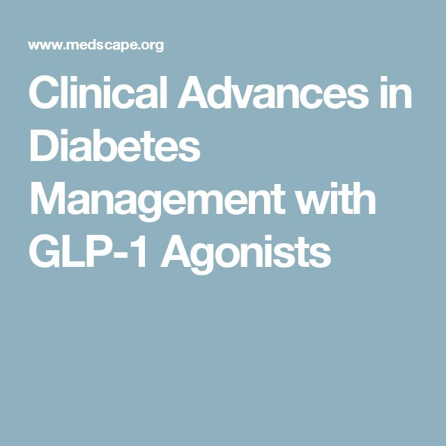 Clinical Advances in Diabetes Management with GLP-1 Agonists
