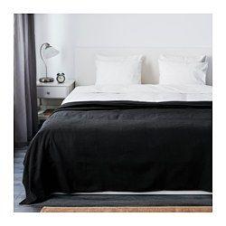 IKEA - INDIRA, Sengetæppe. UOL: Til hurtigt at smide over sengen, hvis du får gæster! - Vi kan også sy et smart, minimalistisk ét!