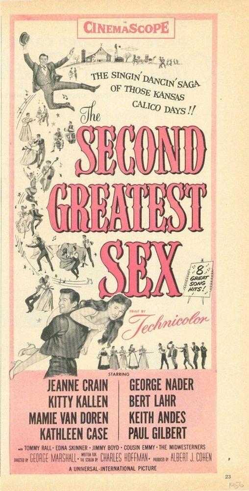 1956 JEANNE CRAIN KITTY CALLEN GEORGE NADER BERT LAHR DANCE COHEN  18126