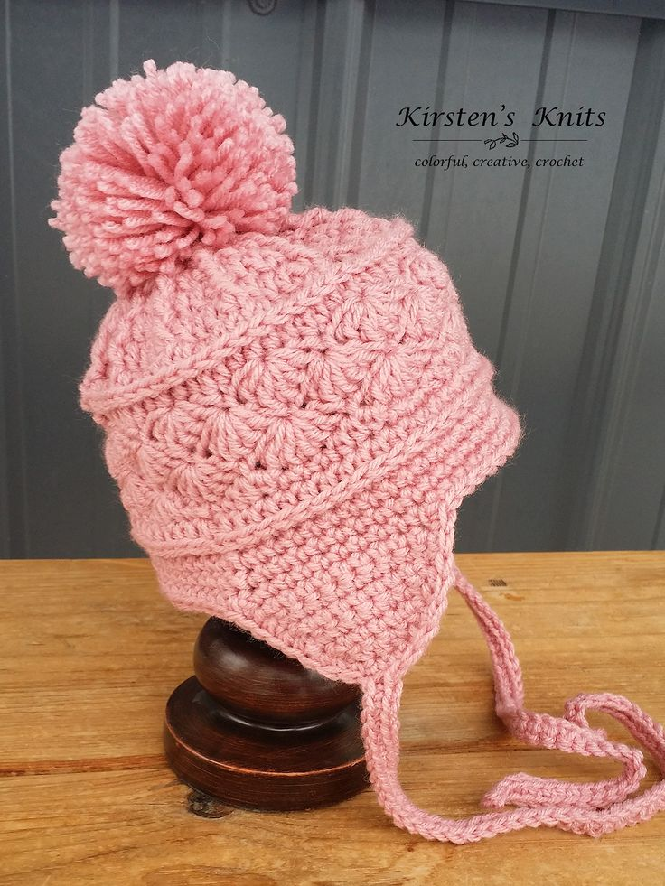Heartstrings Slouch Hat By Kirsten Holloway - Free Crochet Pattern - Adult And Child Sizes - (ravelry)