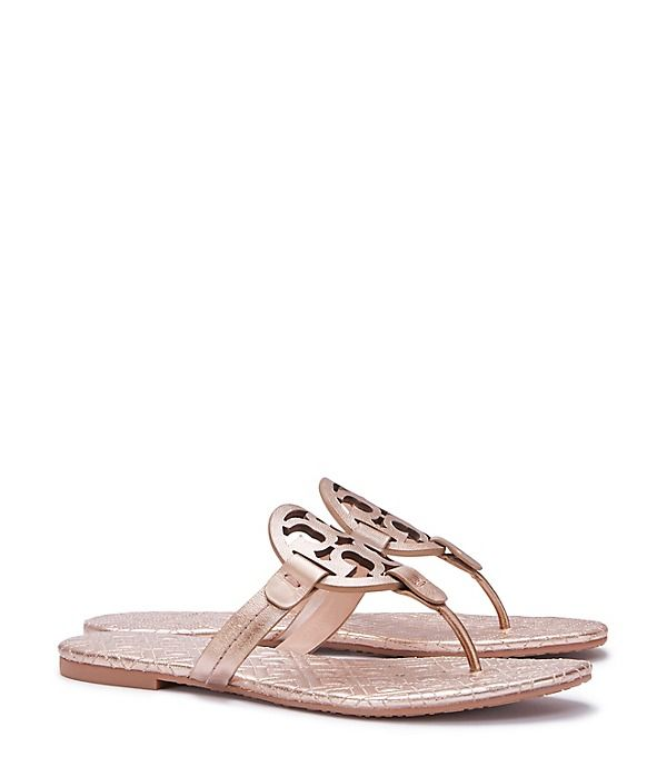 Visit Tory Burch to shop for Miller Sandal, Metallic Quilted Leather and  more Womens Shoes. Find designer shoes, handbags, clothing & more of this  season's ...