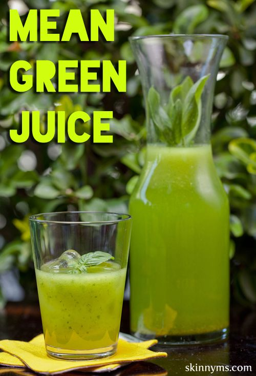 Mean Green Juice is perfect for getting back on track!  And...it curbs sugar cravings!!  #mean #green #juice