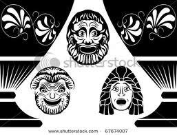 Greek Theater Masks