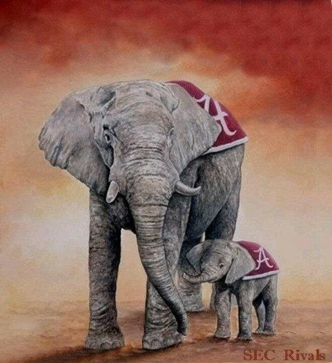 Roll Tide its a family thing.