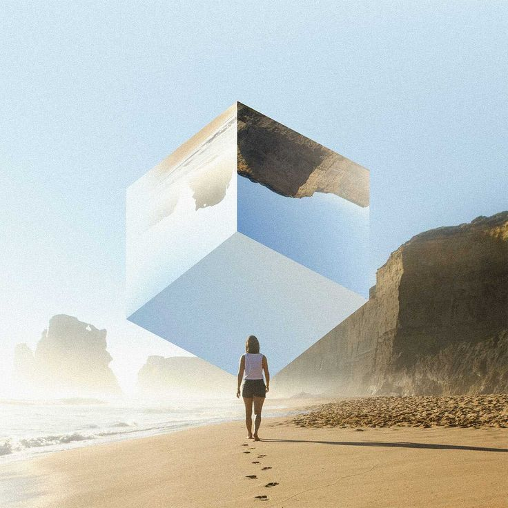 Landscape Mirrors: Stunning Photo Manipulations by Rigved Sathe #inspiration #photography