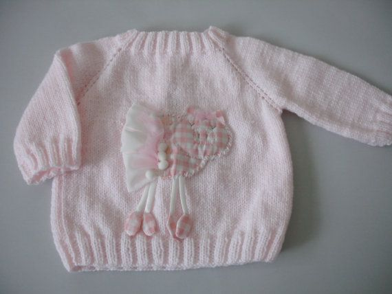 Pink piggy Sweater by Hipolita on Etsy