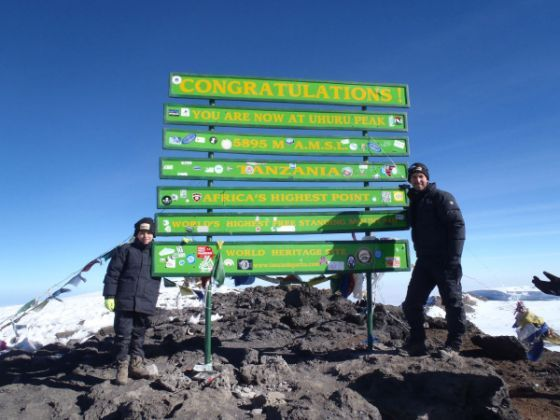 2nd youngest to summit Mt. Kilimanjaro-8yr old Tyler Armstrong