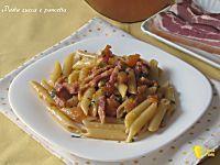 Pasta zucca e pancetta, ricetta