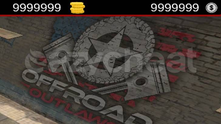 Offroad Outlaws 1 1 186 cheat - Unlimited Gold and Unlimited