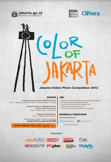 Color of Jakarta Photo Competition 2012