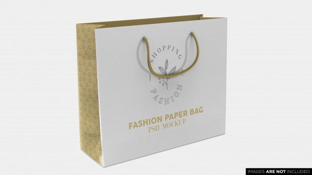 Download Shopping Paper Bag Psd Mockup Paper Bag Mockup Psd Psd