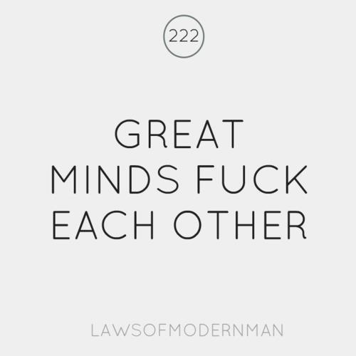 Great minds fuck each other | Anonymous ART of Revolution