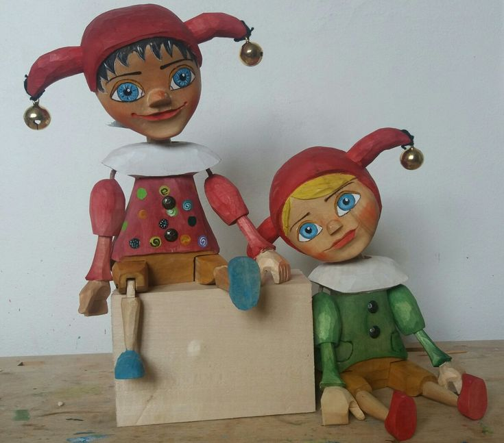 Jesters woodcarving, puppets,marionettes were born 2018