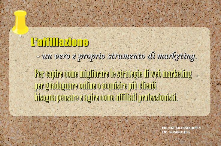 Per #guadagnareonline bisogna pensare ed agire come affiliati professionisti. https://www.macrolibrarsi.it/libri/__affiliate-marketing-libro.php?pn=5560 #affiliazioni #marketing