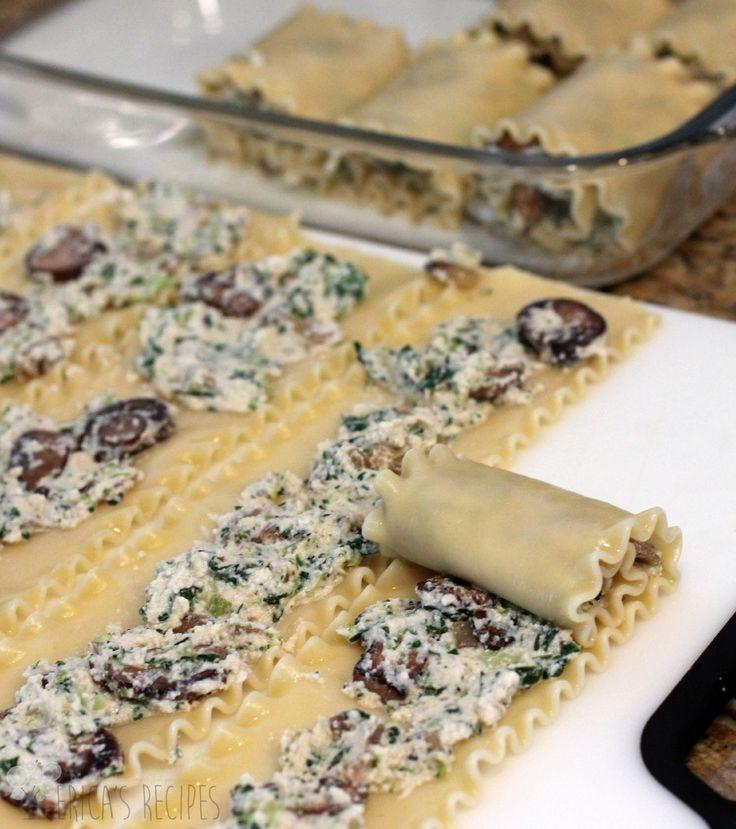 25+ bästa Spinach lasagna rolls idéerna på Pinterest ...