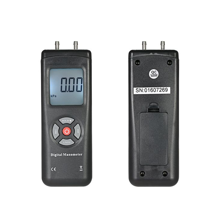 Buy cheap Array Professional Hand-held LCD Digital Dual-port Manometer Differential Air Pressure Gauges Tester with 11 Units of Measurement/±13.78kPa/±2psi from Tomtop.com. Buy various Voltage & Current Testers online, various discounts are waiting for you.