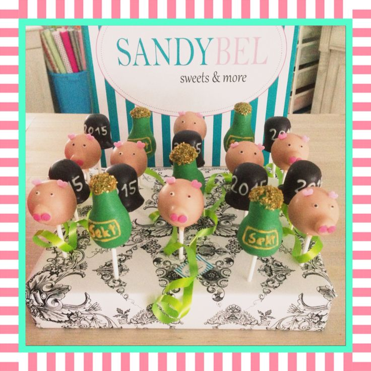 Special Silvester Edition #cakepops by #sandybel #happynewyear