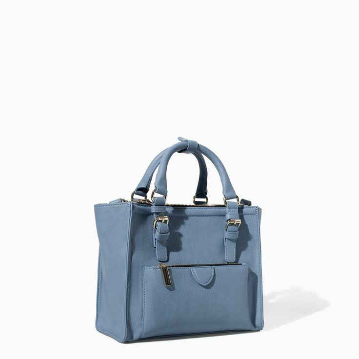 MINI CITY BAG WITH ZIP DETAILS from Zara $79.90