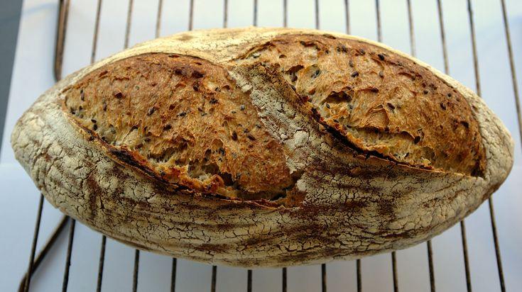 Paine cu seminte – Sourdough Seed Bread  (Painea Perfecta)