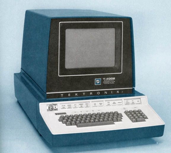 Tektronix T4002s Computer Terminal, late 70s.....................................Please save this pin.   ............................................................. Click on the following link!.. http://www.ebay.com/usr/prestige_online