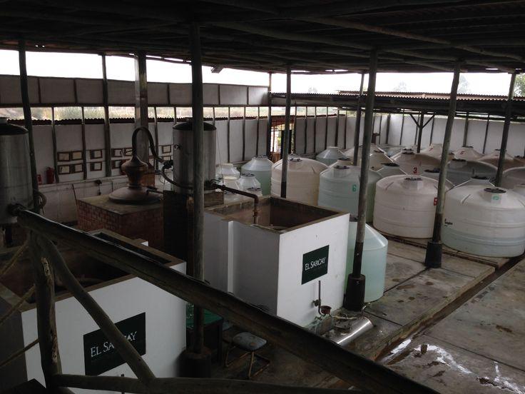 Warehouse at El Sarcay