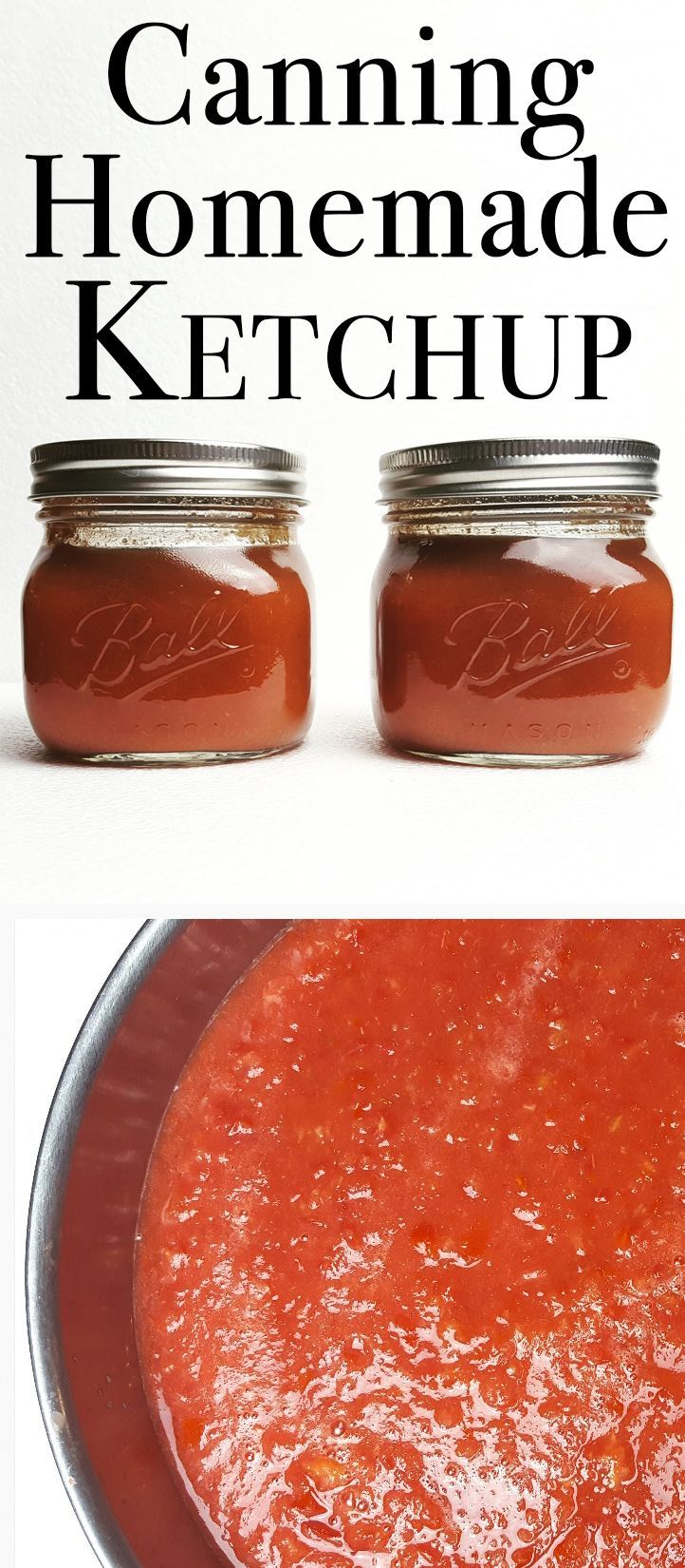 This homemade ketchup recipe is perfect for preserving tomatoes and tastes so good!