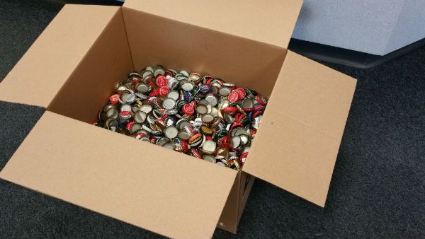 Fallout fan send 2,240 bottle caps to Bethesda to pre-order Fallout 4