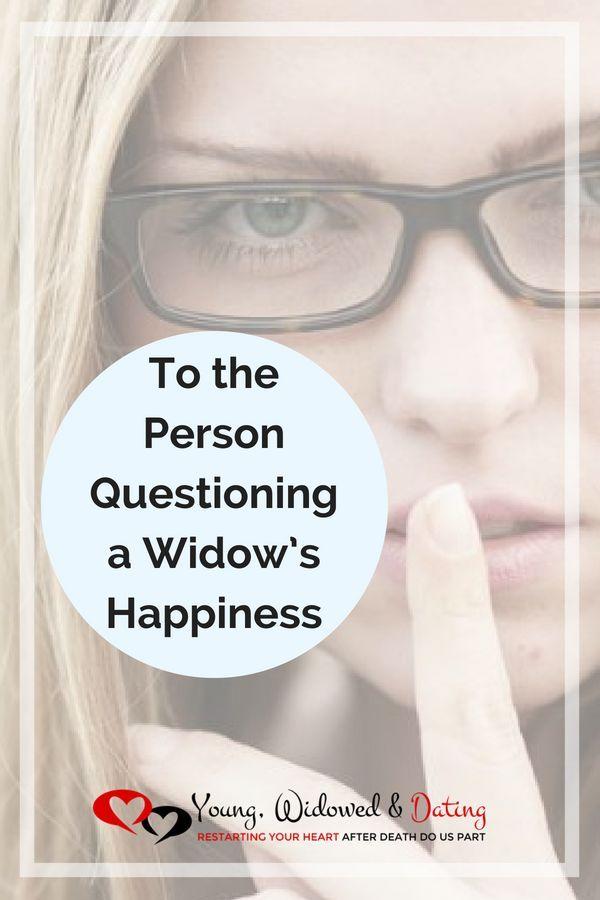 young widows widowers dating