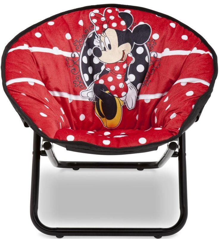 Mobilier pentru Copii DeltaChildren Fotoliu pliabil pentru copii Minnie Mouse