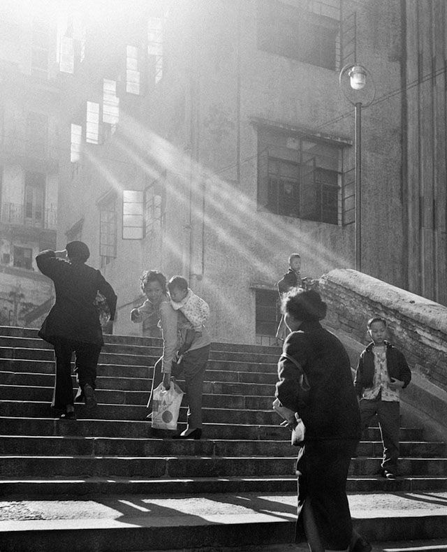 Photographer Ho Fan has been shooting black and white street photography since the 1950s. At the time, he was living in the poor, rundown Central neighborh