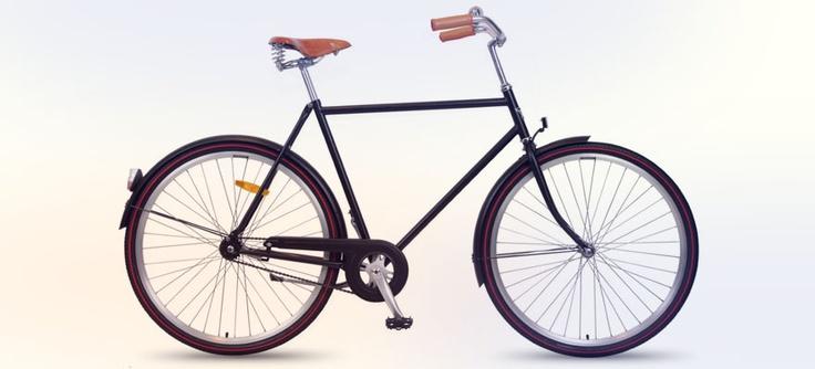 Min cykel kommer jag hämta från Stålhästen. Den springaren ska ta mig runt i stockholm nattetid när man letar inspiration.
