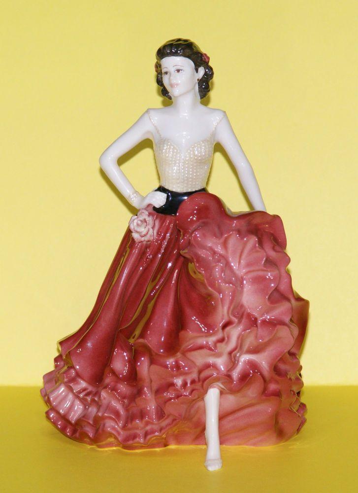 Coalport Ladies Of Fashion ☺ Quot Patricia Quot ☺ Figurine Of The