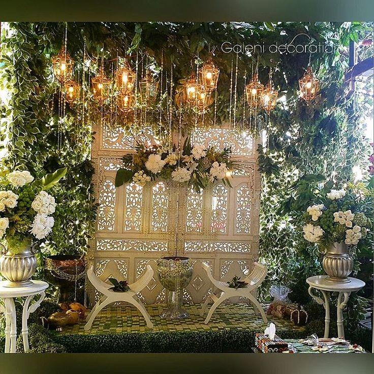 Siraman ceremony for two adorable sisters Cici & Ela ❤❤❤ #galenidecor #dekorasisiraman #homedecor #gebyok #upacaraadatjawa #siraman #weddingday
