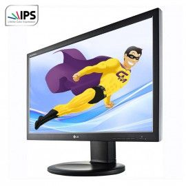 "Ecran Plat PC 23"" LG Flatron IPS231P-BN 1920x1080 16/9 LED IPS Full HD VGA DVI"