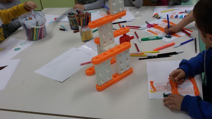 COSTRUZIONI - pre e post scuola ''Itinera'' scuola dell'Infanzia via F.lli Cervi Melzo(MI) - #play #school #book