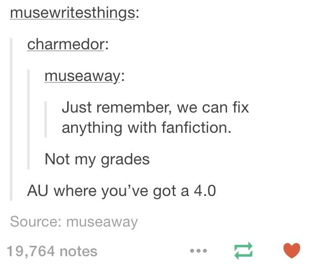 *throws sparkles in your face* FANFICTION!!!