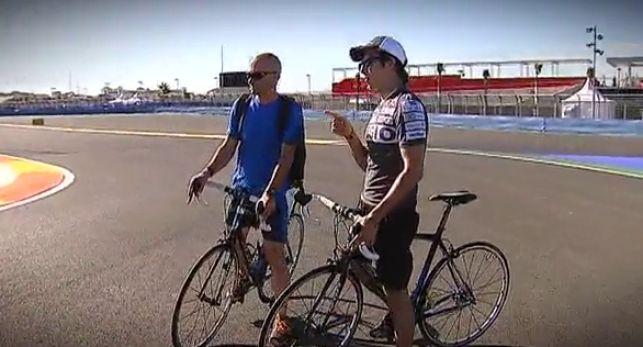 F1 circuite in bike  // DOYOUBIKE // Nice Experience in rental bike  disfruta rodando por el circuito de F1 en bici DOYOUBIKE.