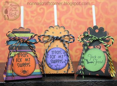 Nonna's Craft Corner: Simple (but sweet) Halloween Treat