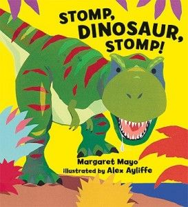 Incorporating the picture book Stomp Dinosaur Stomp into creative movement class. Lot's of unique movement words to explore!