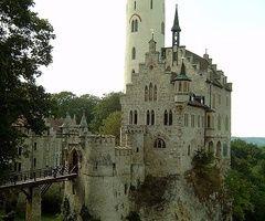 Lichtenstein castle, Black forest    Lichtenstein castle, in the Black Forest,